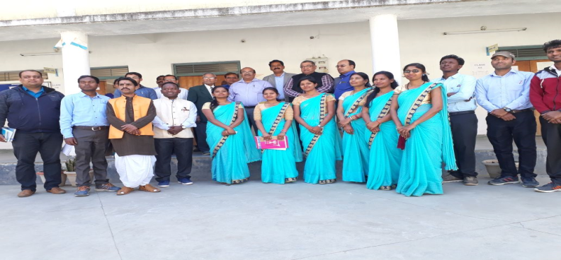 photograph of school staff with hon